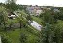 Kanałek wawerski dzień po lokalnej powodzi