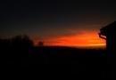 Zachód słońca nad Starą Miłosną