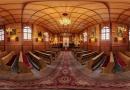Kościół św. Antoniego w Starej Miłośnie - widok ze środka