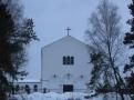 Kościół w Wesołej - styczeń 2011