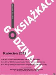 Godzinami o książkach - kwiecień 2012