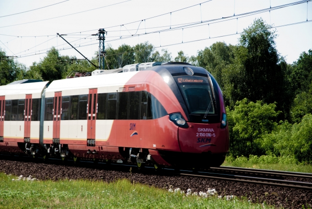 Pociąg SKM linii S2