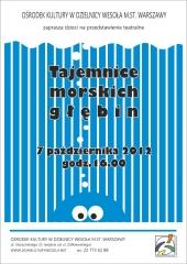 Tajemnica morskich głębin - przedstawienie teatralne dla dzieci