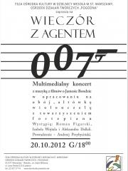 Wieczór z agentem 007 - Multimedialny koncert z muzyką z filmów o Jamesie Bondzie