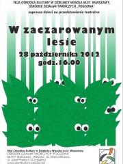 W zaczarowanym lesie - przedstawienie teatralne dla dzieci