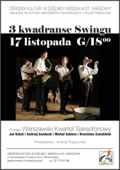 Koncert 3 kwadranse do Swingu
