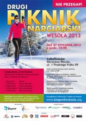 II Piknik Narciarski Wesoła 2013