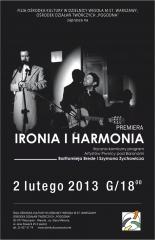 Ironia i harmonia 2.0 - kabaret muzyczny artystów krakowskiej Piwnicy pod Baranami