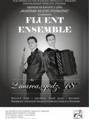 Z cyklu Akademia Muzyki (po)ważnej – koncert duetu Fluent Ensemble