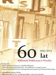 60 lat Biblioteki Publicznej w Wesołej