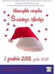 Niezwykła czapka Świętego Mikołaja - przedstawienie dla dzieci