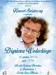 Świąteczny koncert w wykonaniu Zbigniewa Wodeckiego