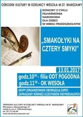 """""""Smakołyki na cztery smyki"""" - Koncert Filharmonii Narodowej dla dzieci"""