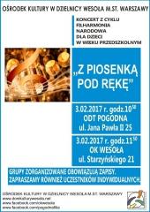 """""""Z piosenką pod rękę"""" - Koncert Filharmonii Narodowej dla dzieci"""