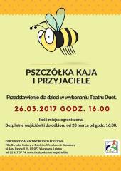 """""""Pszczółka Kaja i przyjaciele"""" - przedstawienie Teatru Duet"""