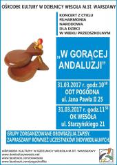 """""""W gorącej Andaluzji"""" - koncert Filharmonii Narodowej"""