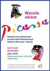 Wesoła okiem Picassa - wernisaż w ODT Pogodna