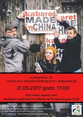 """""""Tylko dla widzów dorosłych i inne skecze"""" - występ kabaretu Made in China"""
