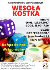 Wesoła Kostka - cykl dla miłośników gier planszowych