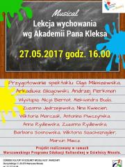 """""""Lekcja wychowania wg Akademii Pana Kleksa"""" - finał"""