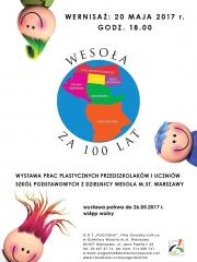 Wesoła za 100 lat – wernisaż wystawy