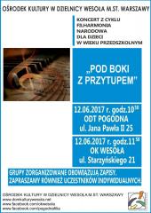 """""""Pod boki z przytupem"""" - koncertu Filharmonii Narodowej"""