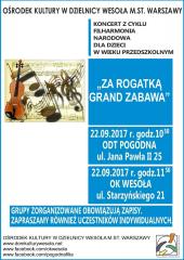 "Koncert Filharmonii Narodowej pt. ""Za rogatką grand zabawa!"""