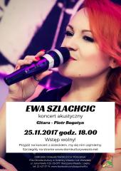 Akustyczny koncert Ewy Szlachcic