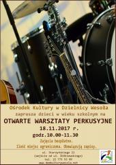 Otwarte Warsztaty Perkusyjne