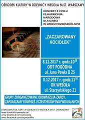 """Koncertu Filharmonii Narodowej pt. """"Zaczarowany kociołek"""""""