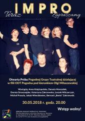 Otwarta Próba Pogodnej Grupy Teatralnej IMPRO