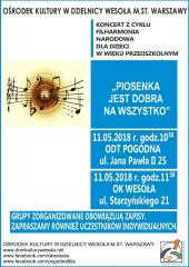 """""""Piosenka jest dobra na wszystko"""" - koncert Filharmonii Narodowej dla dzieci"""