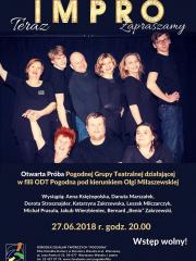 Otwarta Próba Pogodnej Grupy Teatralnej w Wesołej