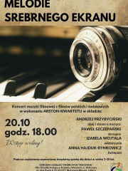 """""""Melodie srebrnego ekranu"""" - koncert wy wykonaniu ARSTON-KWARTETU"""