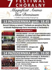 7 Festiwal Chóralny Magnificat Anima Mea Dominum