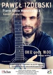 Paweł Izdebski - koncert akustyczny