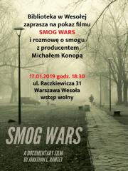 """Pokaz filmu """"Smog Wars"""""""
