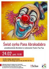 Świat cyrku Pana Abrakadabra - bajka dla dzieci