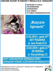 Koncert Filharmonii Narodowej dla dzieci