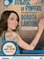 Miłość w Paryżu - koncert Doroty Lanton