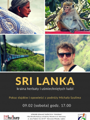 Sri Lanka - pokaz slajdów i opowieści z podróży Michała Szulima