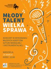 Młody Talent Wielka Sprawa – koncert