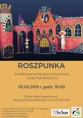 """""""Roszpunka"""" - przedstawienie dla dzieci w Wesołej"""