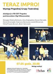 Występ Pogodnej Grupy Teatralnej