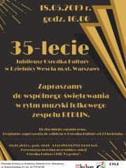 35-lecie Ośrodka Kultury w Wesołej