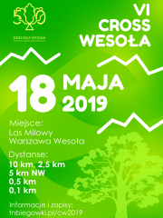 Cross Wesoła 2019