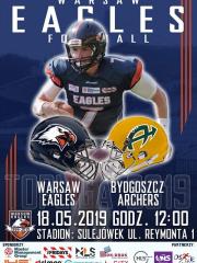 Warsaw Eagles Vs Archers Bydgoszcz - mecz futbolu amerykańskiego