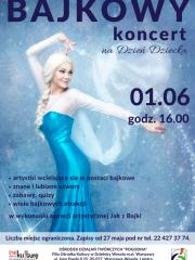 Bajkowy Koncert z okazji Dnia Dziecka