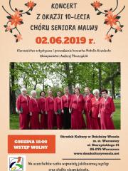 Koncert z okazji 10-lecia działalności artystycznej Chóru Malwy