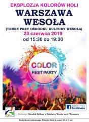 Festiwal Kolorów – Color Fest Party